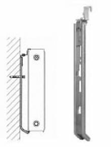 Produktbild: Klickschienen für Heizkörper ohne Halterungen Höhe 600
